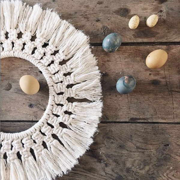 FREE 3-day macrame wreath challenge