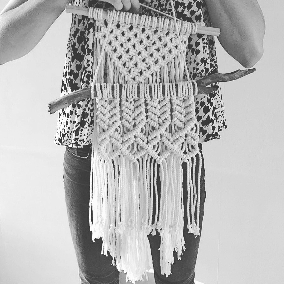 I can help you at every stage of your macrame journey