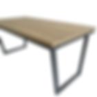 Mesa de centro rectangular Ugua Detalle2