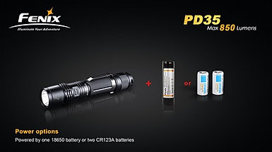PD35 Flashlight Picture 2