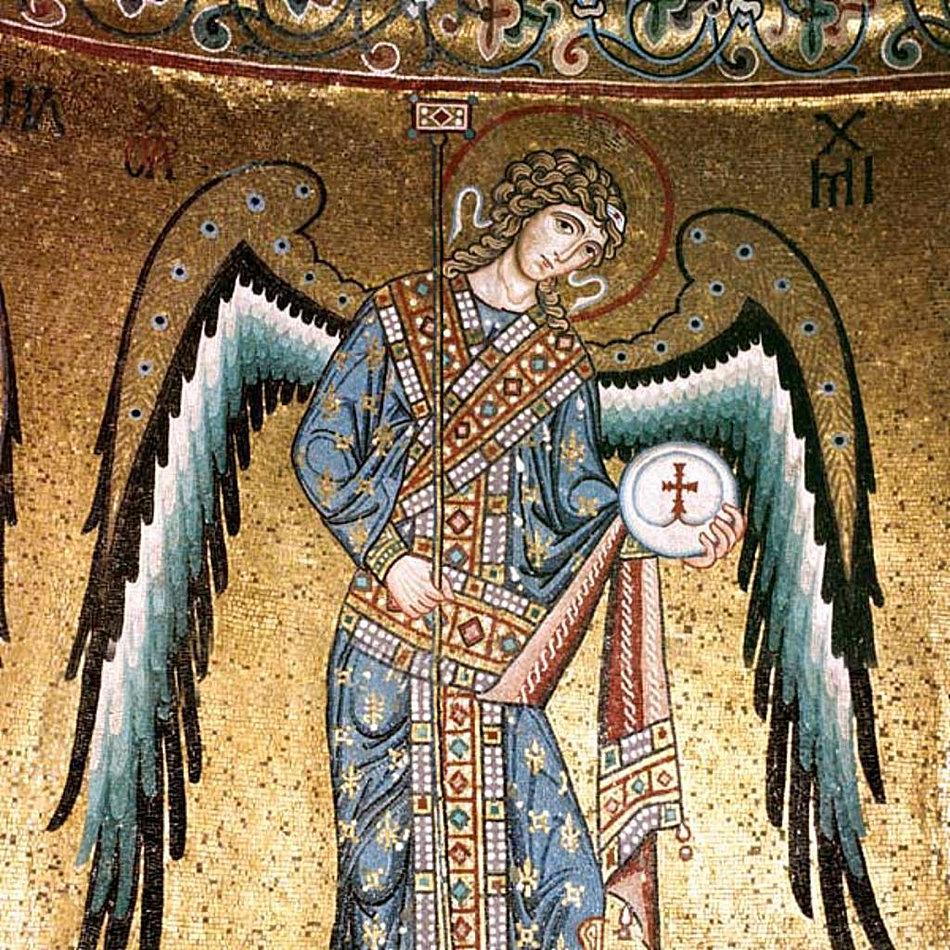 Detail of Archangel Michael