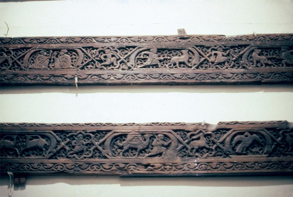 Fatimid Palace beams from Cairo