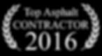 Top Asphalt Contractor 2016