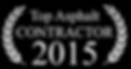 Top Asphalt Contractor 2015