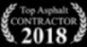 Top Asphalt Contractor 2018