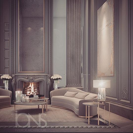 Ions luxury interior design dubai interior design for Classic furniture uae