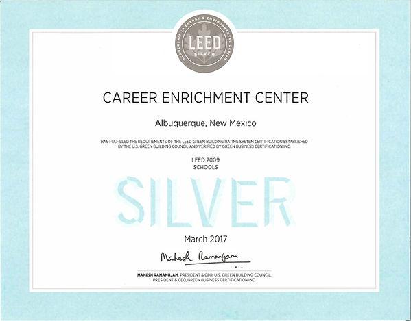 CEC LEED Silver Certification.jpg