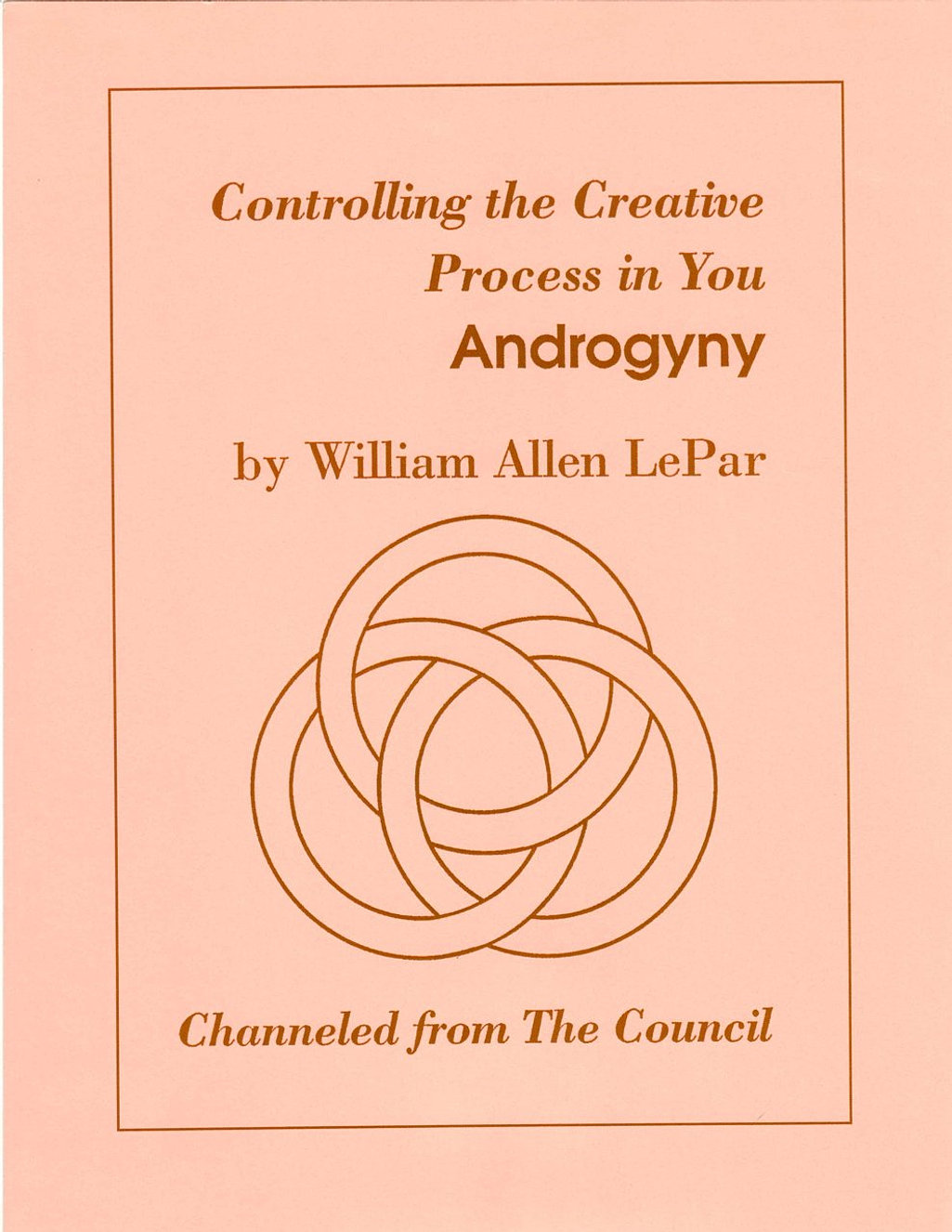 Controlling The Creative-Androgyny