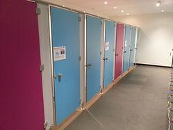 cabine sanitaire CABSAN  cabine sanitaire en stratifié -phénolique