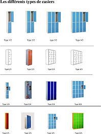 vestiaires métalliques et stratifié compact CABSAN - casiers métalliques et compact CABSAN