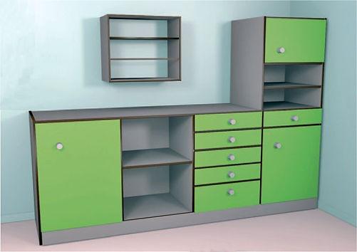 meuble stratifié compact CABSAN-accessoires cabines sanitaires CABSAN