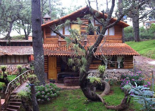 Caba as en mazamitla caba as los pinos - Cabanas de madera los pinos ...
