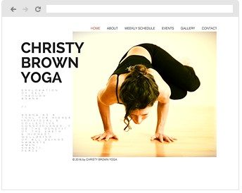 Christy Brown Yoga