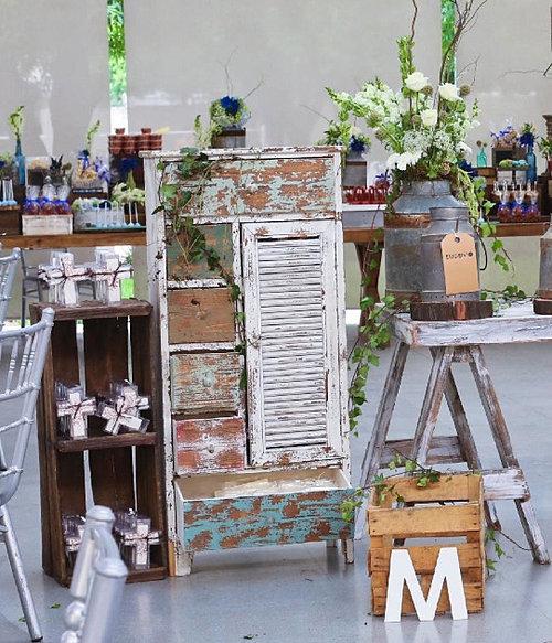 Mesas sillas globos gigantes mesas altas salas flores - Comprar decoracion vintage ...