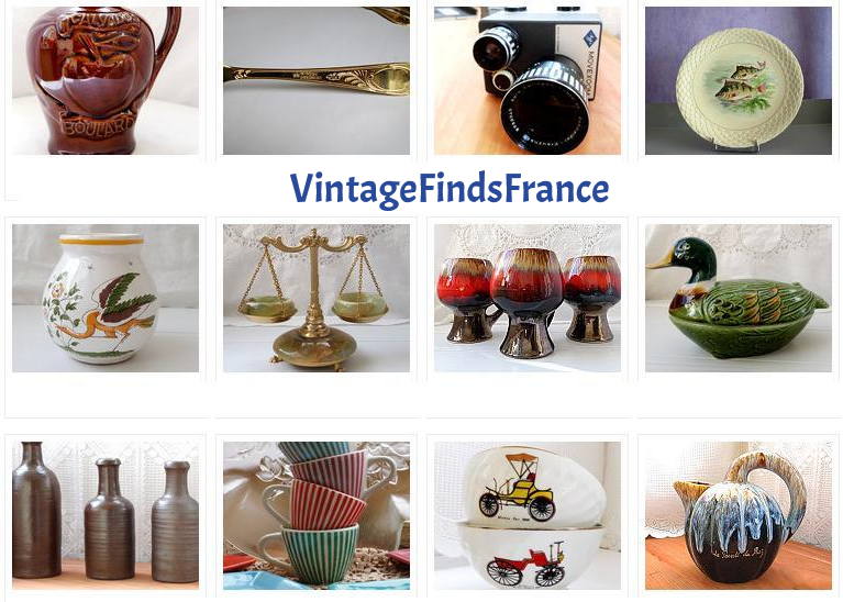 French Vintage Housewares Brittany The Vintage Village