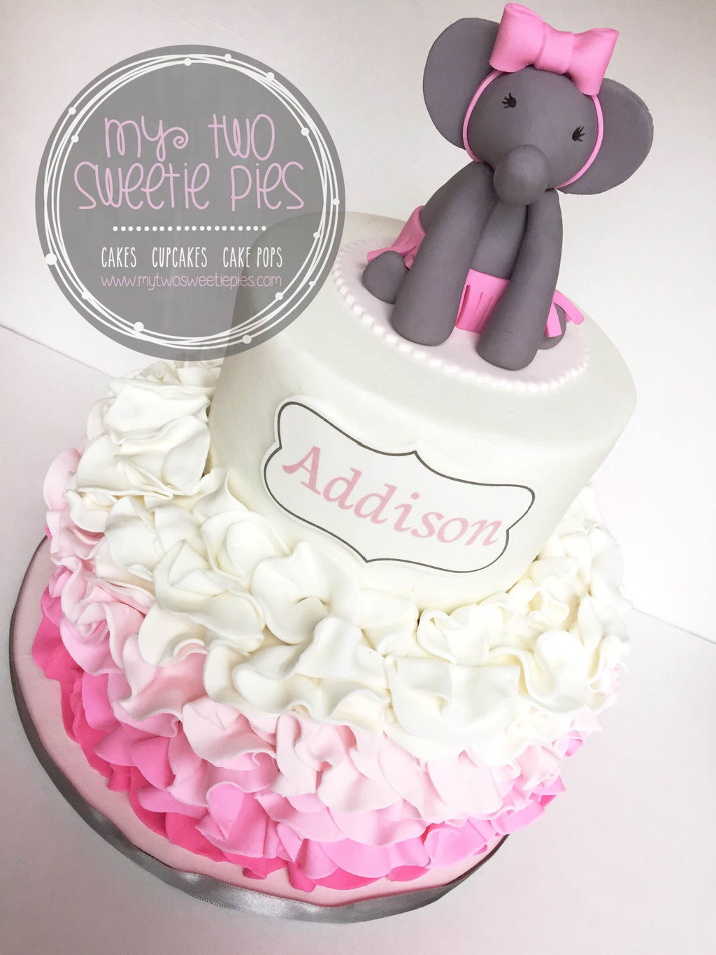 pink grey elephant baby shower pink grey elephant baby shower