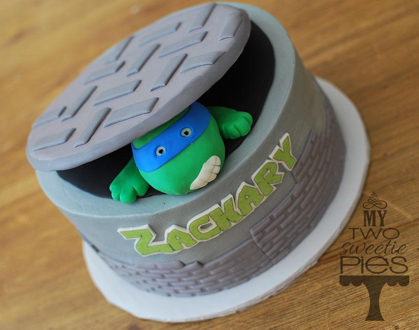 Ninja Turtle Head Cake Ninja Turtle Cake Happy