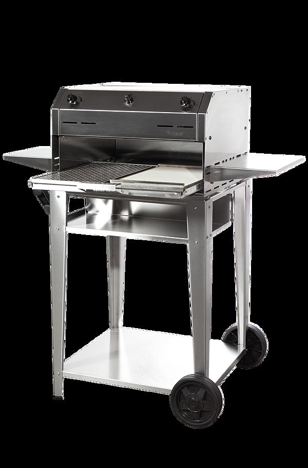 Barbecue gas da esterno ed interno grigliate carne pesce - Barbecue da esterno a gas ...