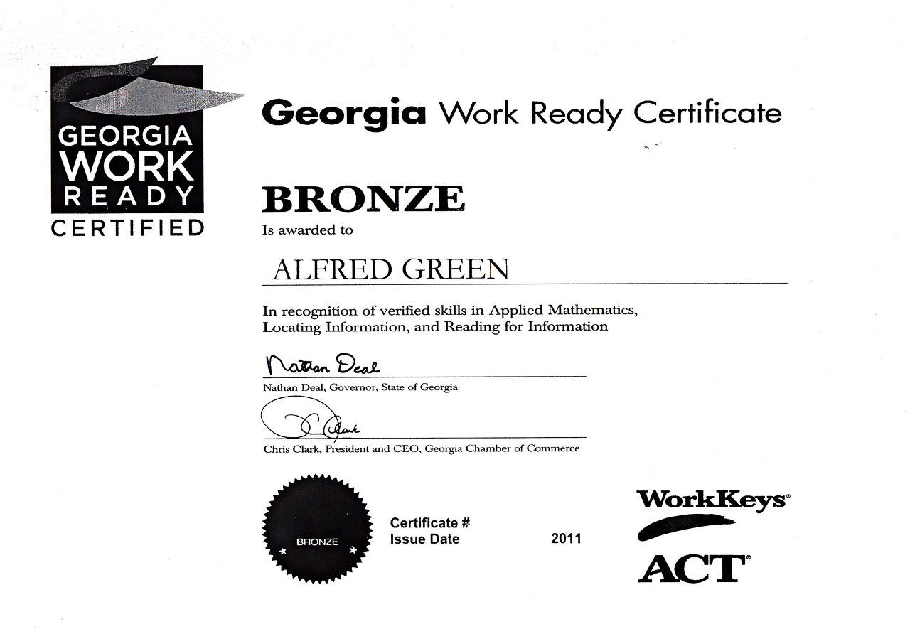 Ag discount painter wix ga work ready certificate xflitez Choice Image