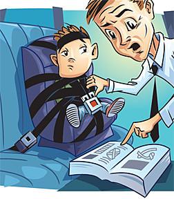 Детское автокресло - просто