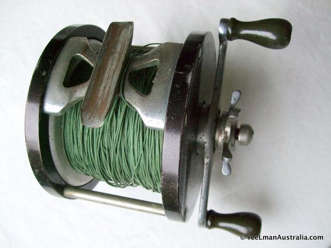 Old fishing reels australian vintage fishing reels for Used fishing reels for sale