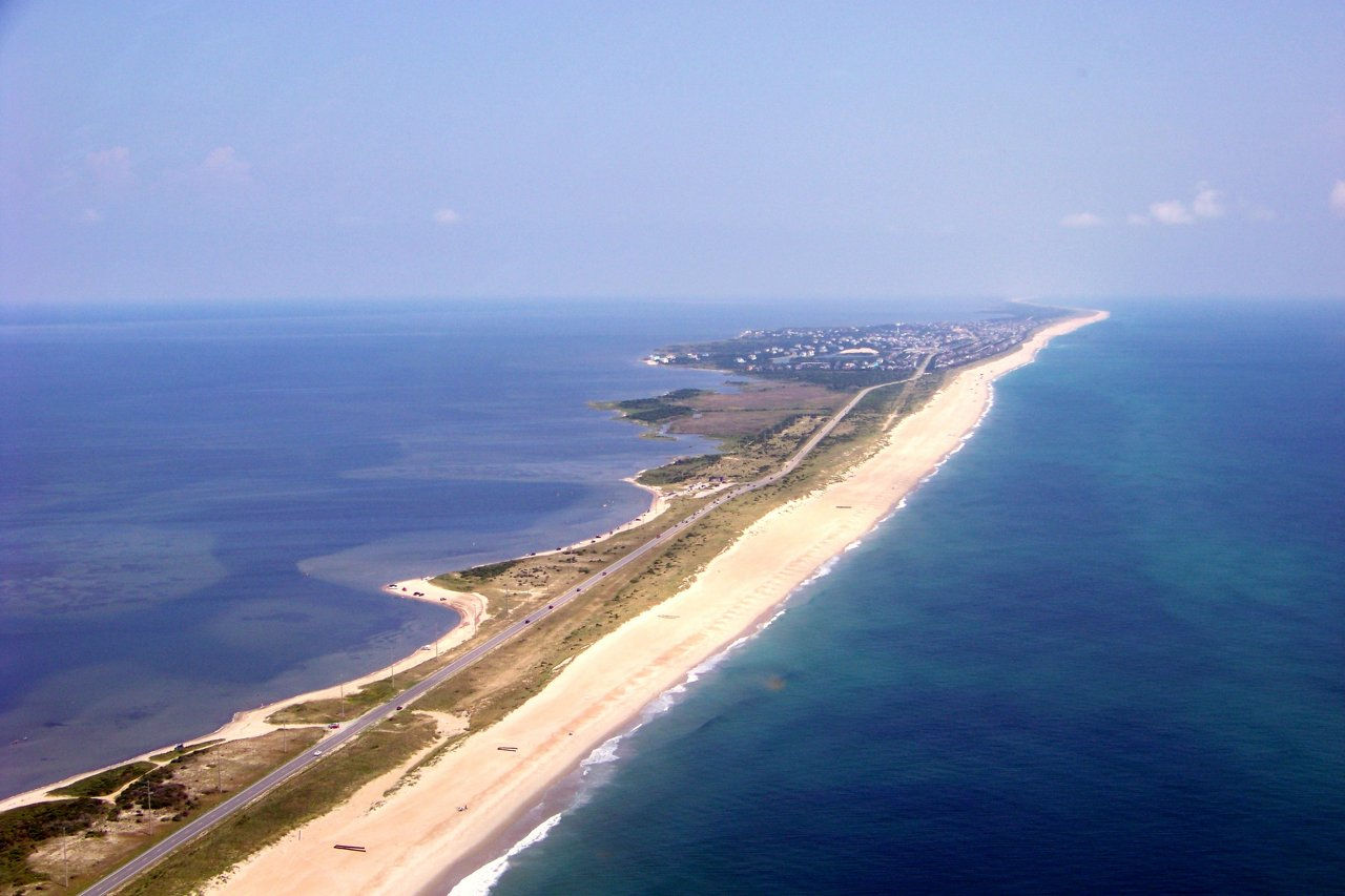 Obx biplanes offers exciting biplane rides over the outer for Outer banks fly fishing
