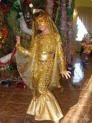 Как сшить костюм золотой рыбки своими руками