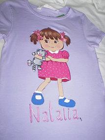 Natalia y su gato...