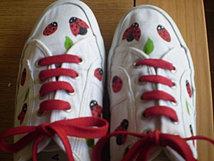 """Zapatillas de """"fresa"""""""