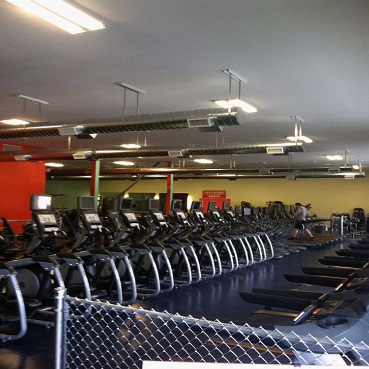 Gyms near me club concept