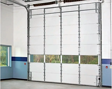Non-Insulated-Sectional-Steel-Garage-Doo