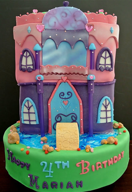 CakeUmLicious Barbie and the Diamond Castle Cake