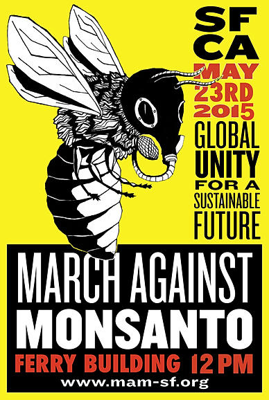 March Against Monsanto @ Ferry Building | San Francisco | California | United States