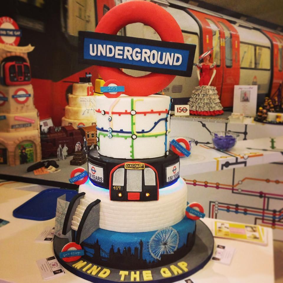 Underground Birthday Cake
