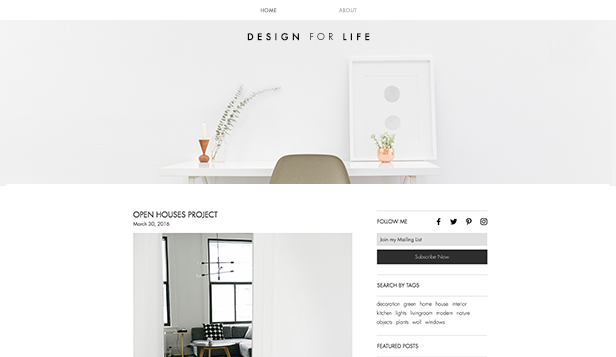 Blog over stijl en design