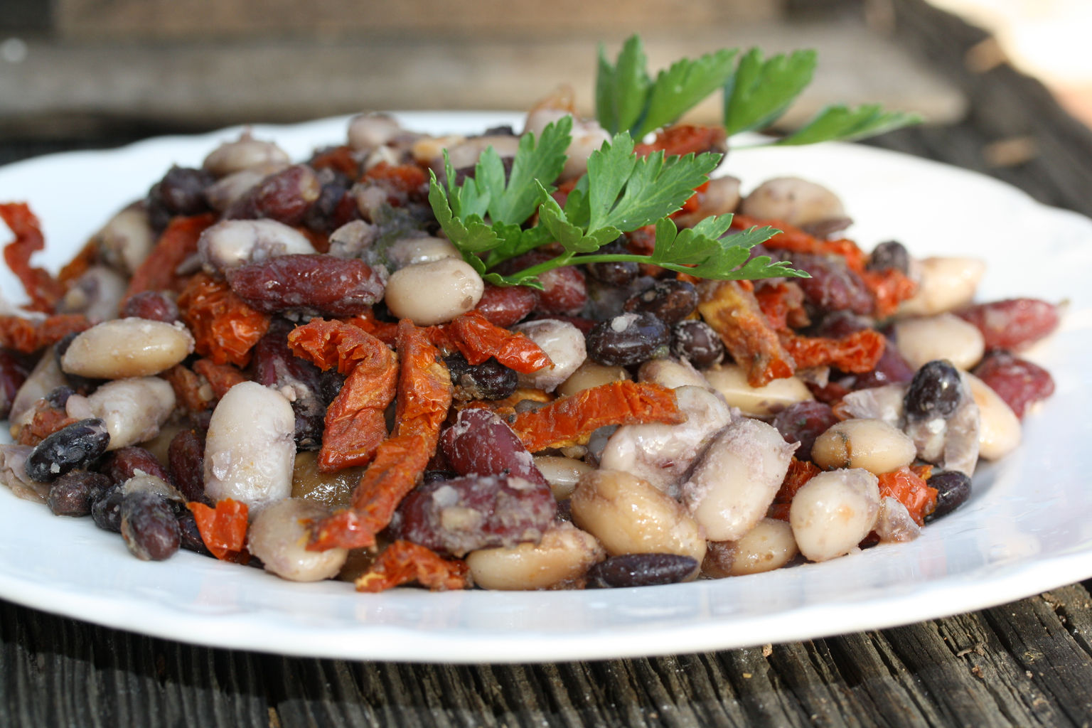 red and white bean curry salad. 1.JPG