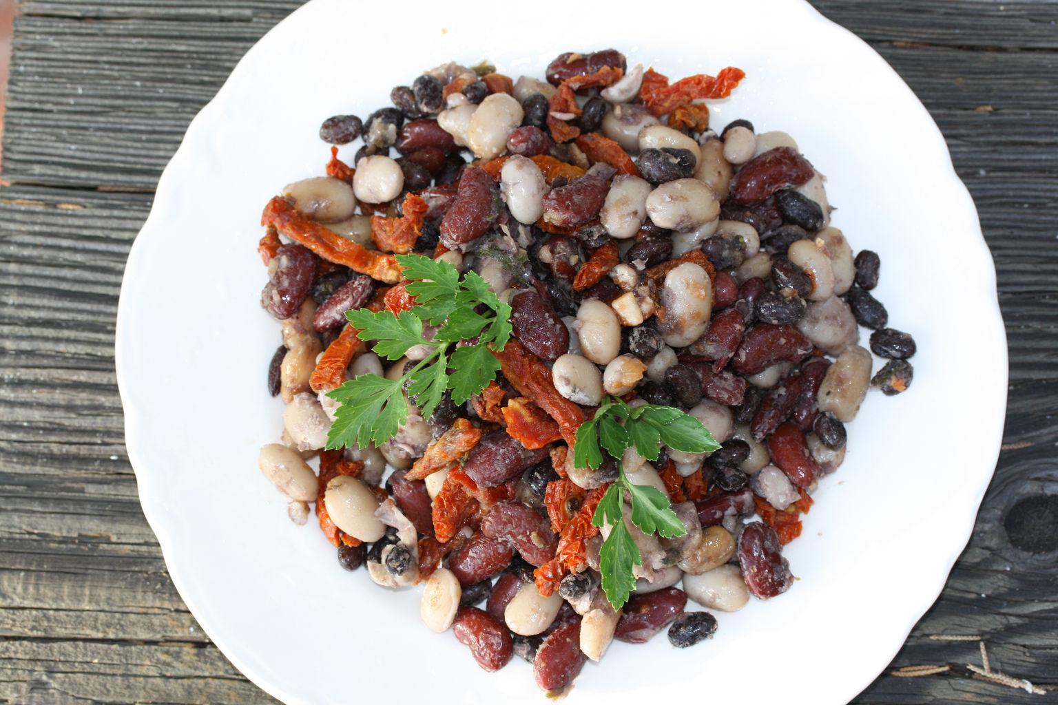 red and white bean curry salad. 2.JPG