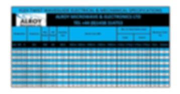 flexiguide Waveguide Specifications-page