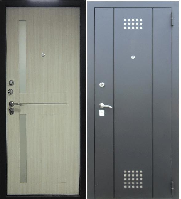 надежные с хорошей шумоизоляцией стальные двери