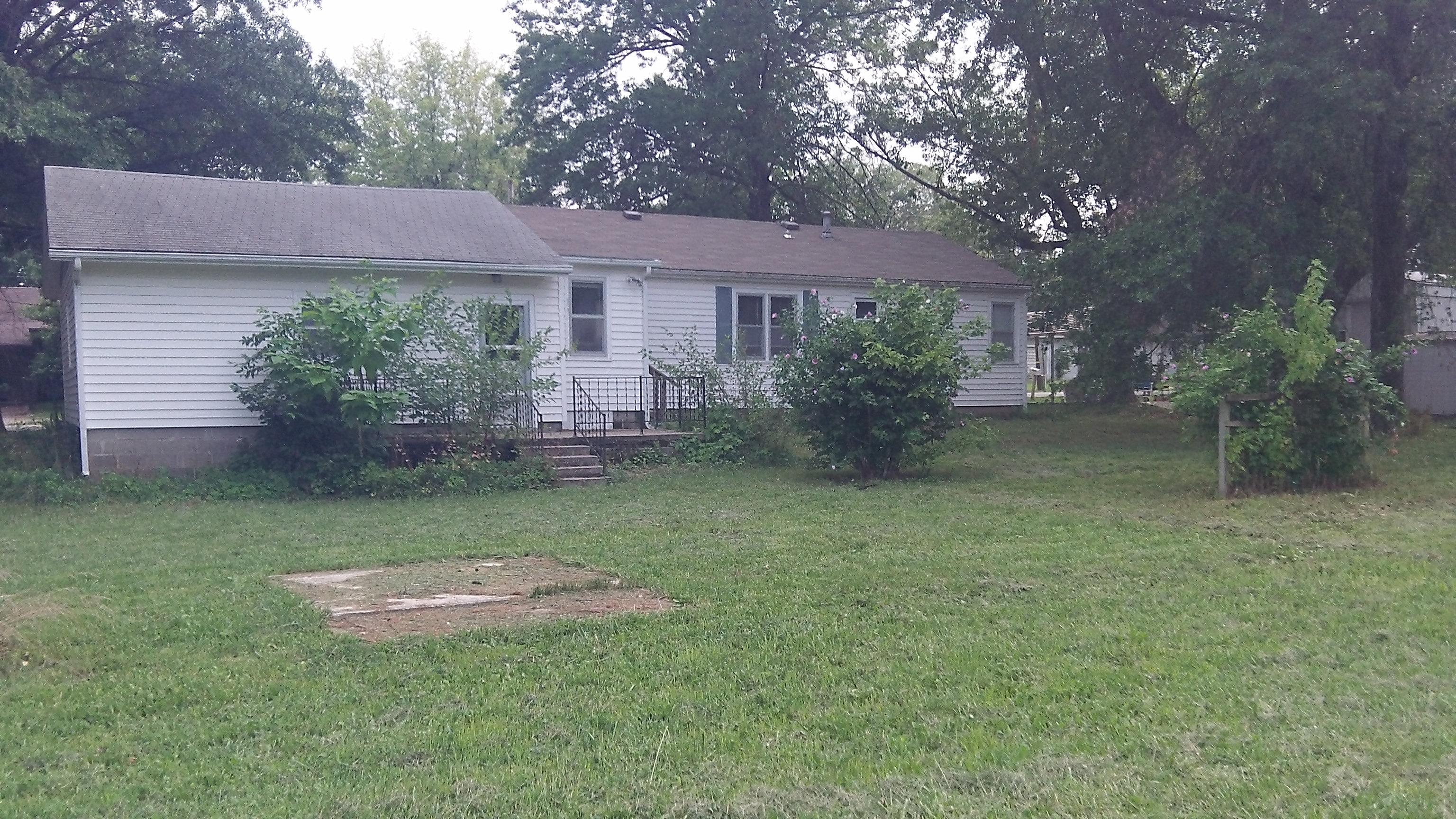 Back yard for Home builder com