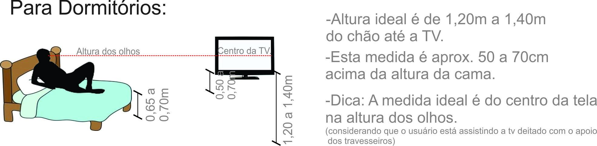 Altura Padrao De Tv Na Parede Sala ~ Portanto , na hora de comprar sua televisão fique atento a estes
