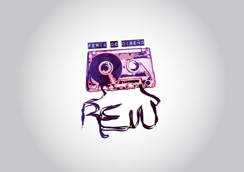 logo feria de diseño REW