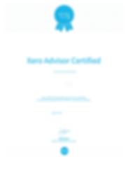 Xero Certified Advisor Certification