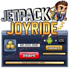 Jetpack Joyride Hack No survey