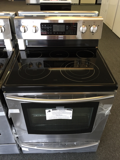 samsung dual convection electric range appliance nw used. Black Bedroom Furniture Sets. Home Design Ideas