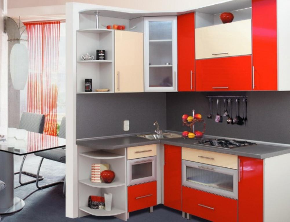 Дизайны угловых кухонь