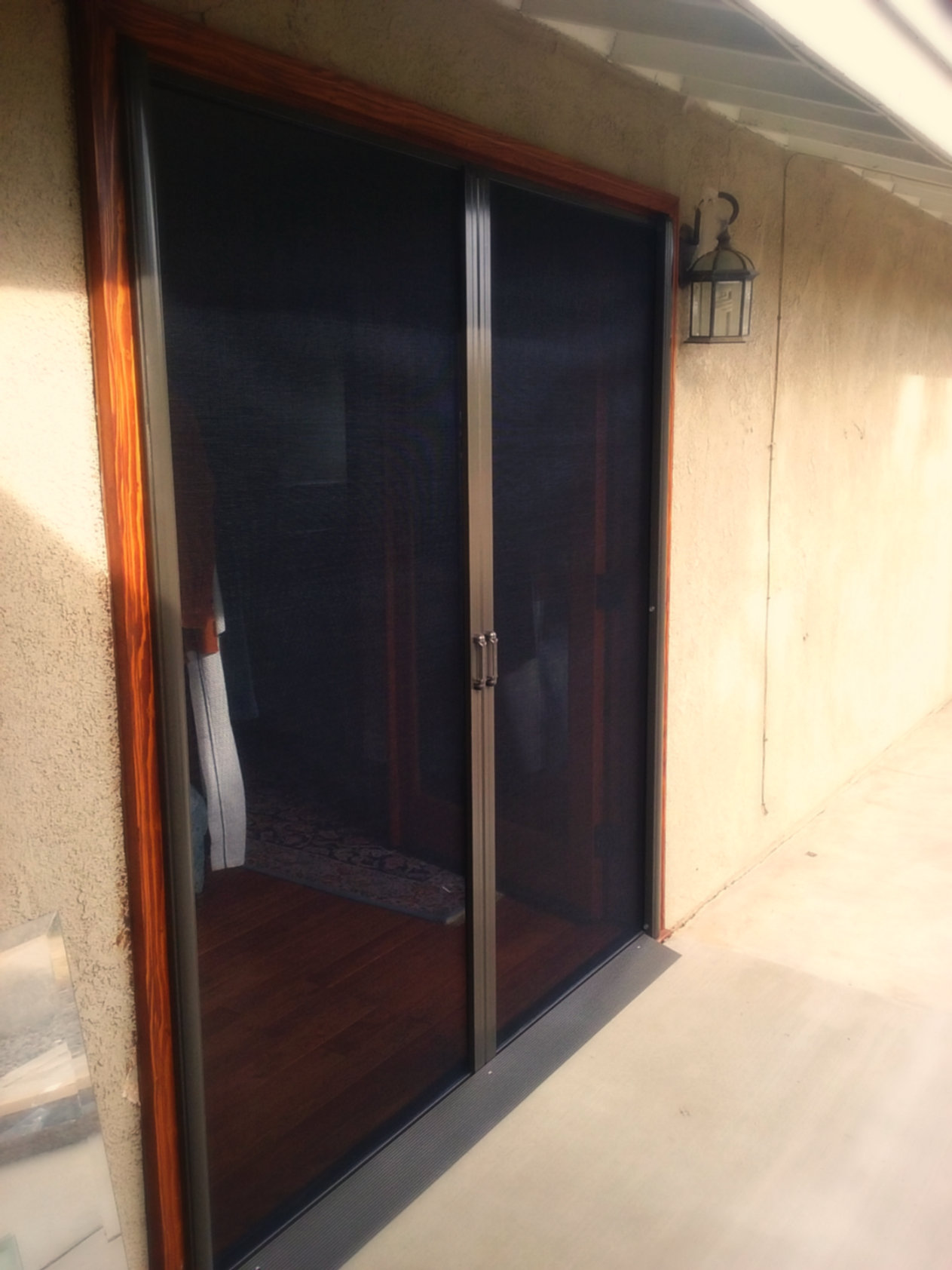 Riverside retractable screen doors Cost of retractable screen doors