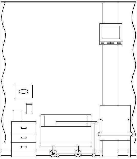 Waiting Room Elevation : Wix interior design portfolio created by