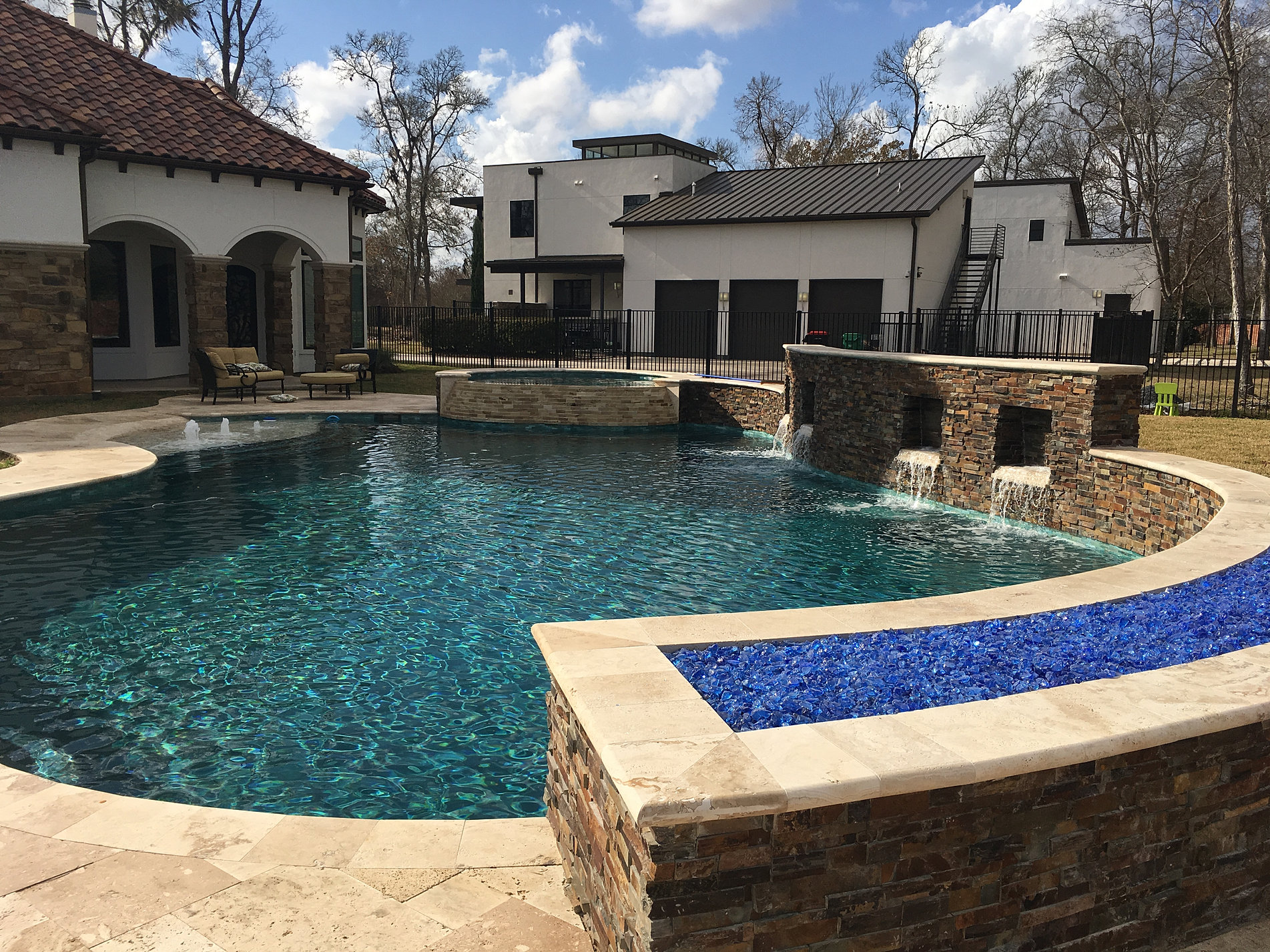 Houston Pool Builder Ocean Blue Pools Houston