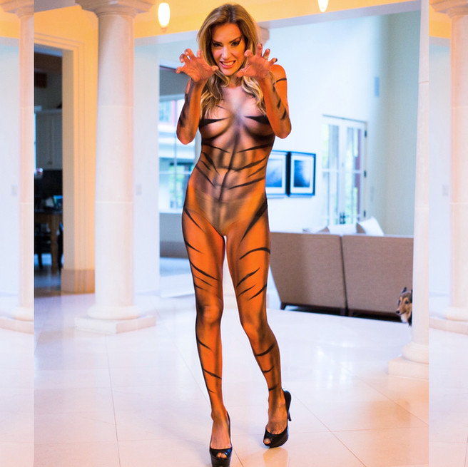 Body Paint Costume Real Houswives